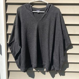 Aerie small shirt with hoodie